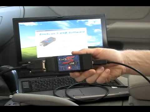 ElmScan 5 USB installation