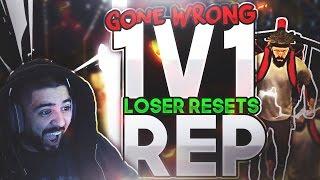 1v1 LOSER RESETS REP - GONE WRONG - ANNOYING KID - NBA 2K17