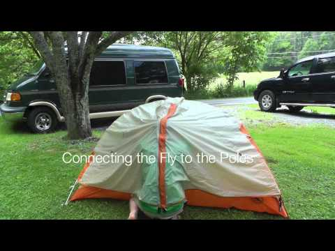Big agnes copper spur ul1 tent setup and waterproof test the