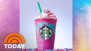 Starbucks Unicorn Frappuccino Craze Sparks Barista Backlash | TODAY
