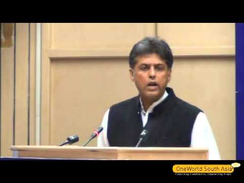 Manish Tewari, Minister of State (Independent Charge) Ministry of I&B delivers valedictory speech