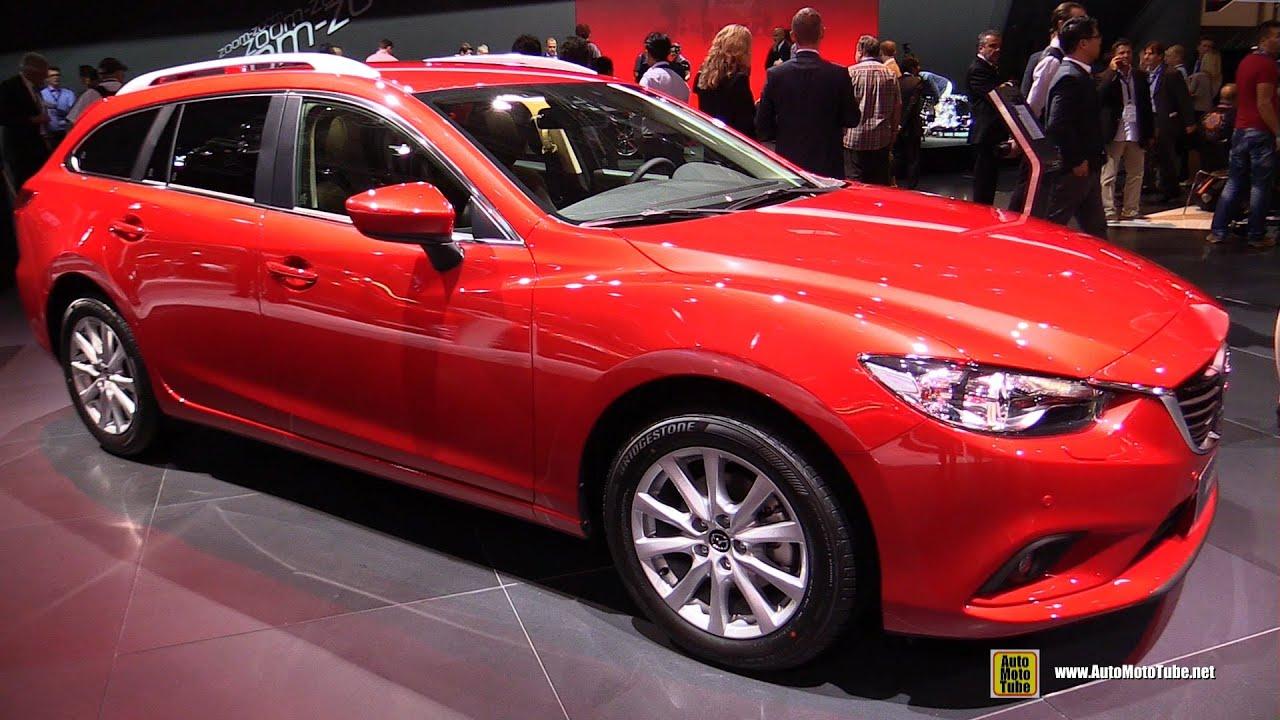 2015 Mazda 6 Wagon Dynamique Skyactiv D Exterior And Interior Walkaround 2014 Paris Auto