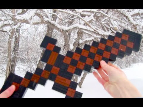 LEGO Wooden Sword - Minecraft