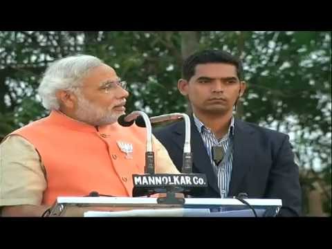 Shri Narendra Modi addresses Bharat Vijay Rally in Gokak, Karnataka - 30th March 2014