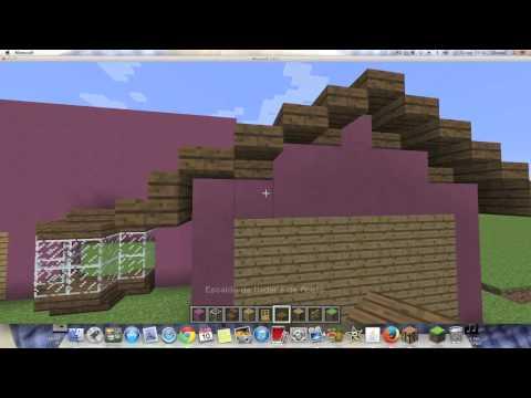 Como hacer la Casa de los Simpsons en Minecraft 1.6.2 (Parte 1)