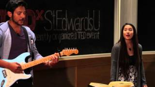Give Me Love by Ed Sheeran Cover | Lorenzo Elizondo and Thuy Vy Mai | TEDxStEdwardsU