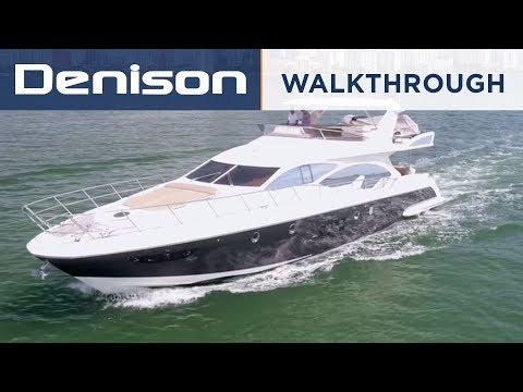 70 Azimut Motoryacht [Yacht Tour]