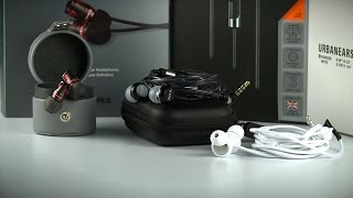 In-Ear Headphones Roundup: Urbanears Kransen, id America Spark, and RHA MA600i
