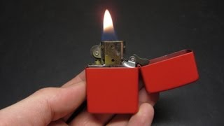 Carrying a Zippo when you don't smoke?