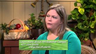 Central Florida Gardening - 4H Summer Camps