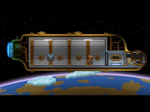 Starbound - Space Travel Preview