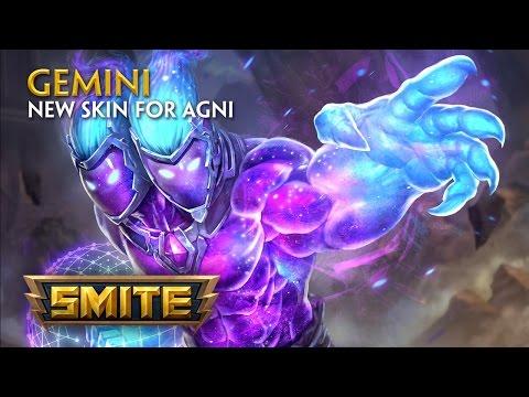 SMITE - New Skin for Agni - Gemini