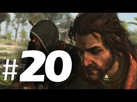Assassin's Creed 4 Black Flag Gameplay Walkthrough Part 20 - The Fireship 100% Sync