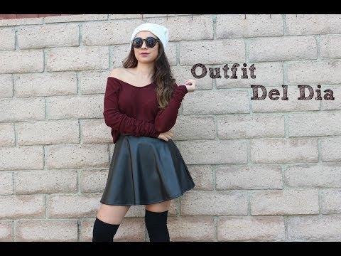 Outfit Del Dia- Falda Negra