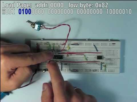 Let's program an AVR manually