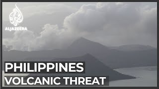 Philippines braces for another volcanic eruption threat