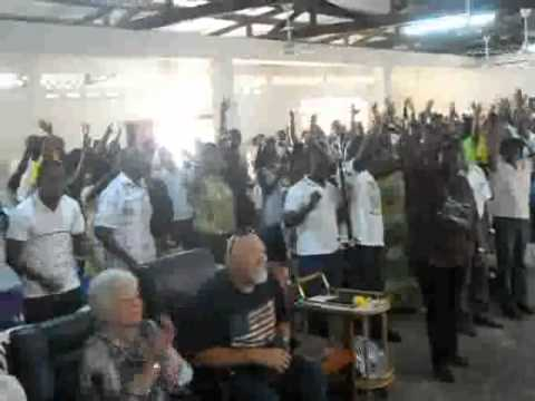 EMI Worship with TCWC Congregation in Ghana 2