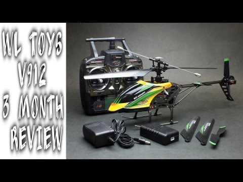 WL Toys V912 HD video Review vs WL toys V911