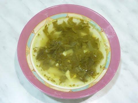 Как сварить суп со щавелем и яйцами