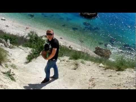 Фиолент. Спуск на пляж у мыса Виноградный за 9 минут.