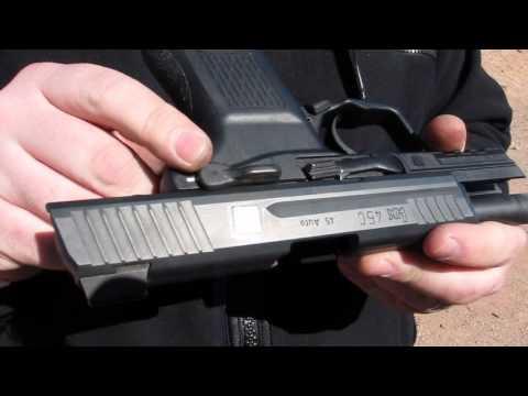 Heckler & Koch HK45 Compact Tactical Pistol - SHOT Show 2012