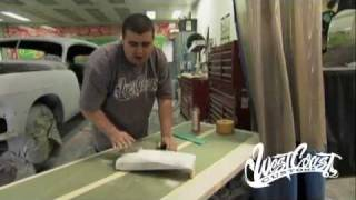 West Coast Customs - Sanding Body Filler