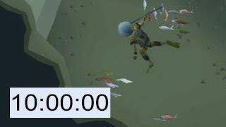 10 Hours of Underwater Fishing (OSRS)