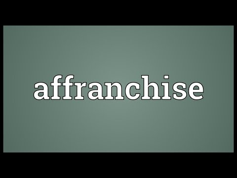 Header of affranchise
