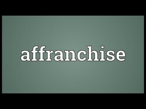 Header of affranchise