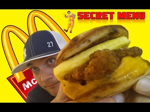 MCDONALD'S SECRET MENU CHICKEN MCGRIDDLE REVIEW # 153