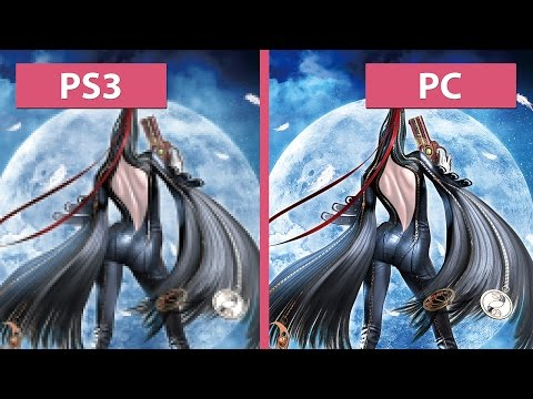Bayonetta – PC 4K vs. PS3 vs. PC 1080p Graphics Comparison
