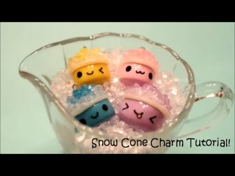 Snow Cone Charm Tutorial!