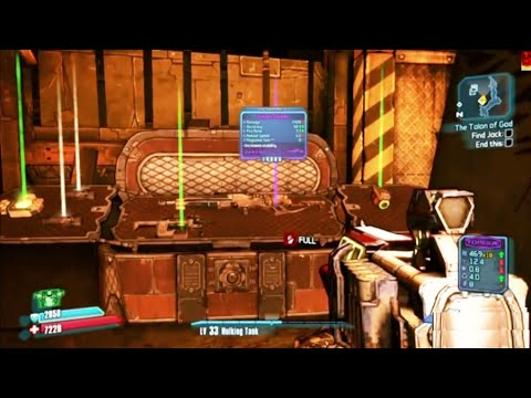 Borderlands 2 : hidden chest - looting location 1
