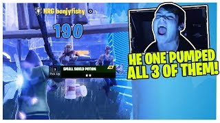 MONGRAAL FREAKS OUT AFTER BENJYFISHY CLUTCHES THE MOST INSANE 3V1 IN 3V3 WAGERS!
