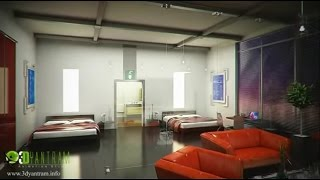 Interior Walkthrough, 3D Interior Walkthrough Animation