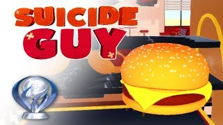 Suicide Guy - PS4 Trophy: Hamburger!