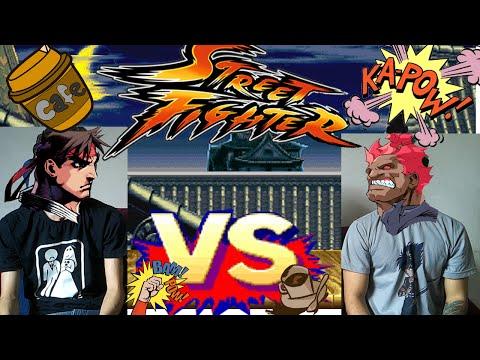 Street Fighter e Café da manha