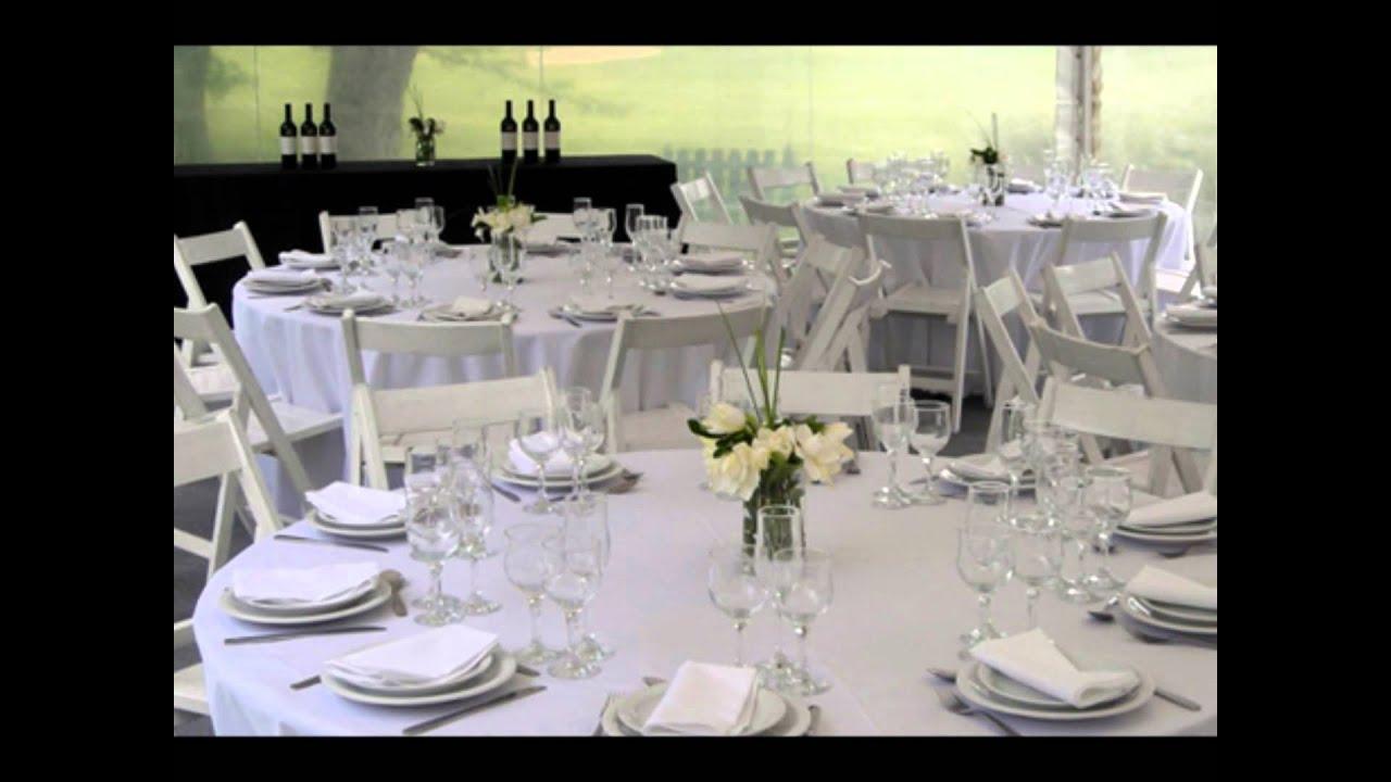 vajillas sillas y mesas para fiestas y eventos roymar
