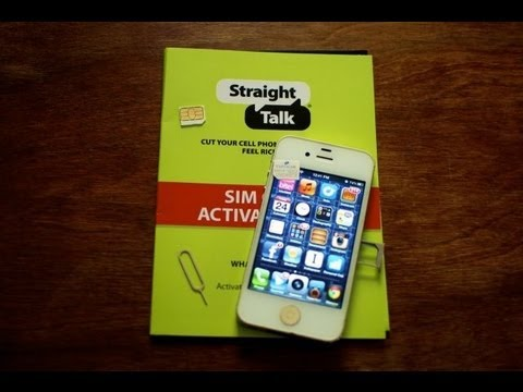 HOW TO GET THE STRAIGHT TALK CELLULAR SETTING MENU ON IOS 6.0 / 6.0.1 IPHONE 5 / 4S / 4