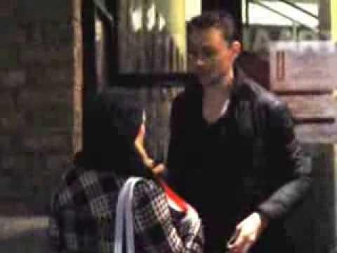Tom Hiddleston outside Donmar