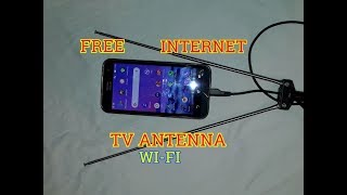New Free internet 100% -Wi-Fi TV antenna, Ideas Free internet at home 2019