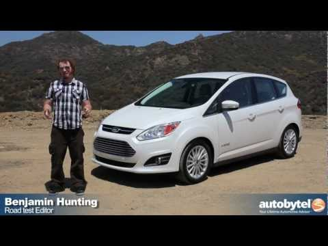 2013 Ford C-MAX Hybrid Test Drive & Car Video Review