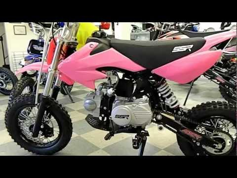 SSR 110cc PIT BIKE for Girls by HIGH STYLE MOTORING SSR SR110-SEMI PIT BIKES FOR KIDS (562) 945-8361