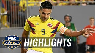 Falcao scores off the counter-attack vs. the USMNT | 2018 International Friendly Highlights