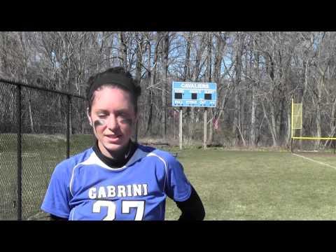 Softball vs. Keystone College (4/6/13)