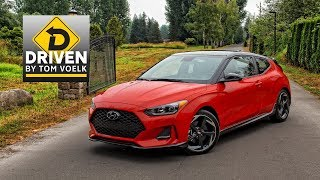 Driven- 2019 Hyundai Veloster Turbo Ultimate