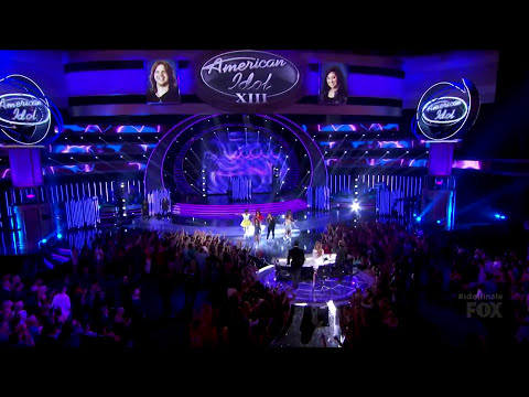 Demi Lovato - Really Don't Care + Neon Lights - American Idol 13 Finale
