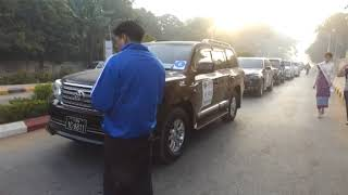 """DVB - JOURNEY TO THE NORTH WEST """"Rally Sagaing 2018"""""""