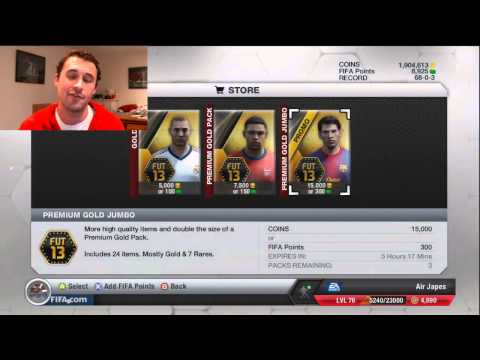 FIFA 13 Packs - Ask Japes Q&A