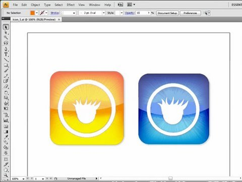 Create iPhone Icons w/ Illustrator CS4!